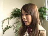Dressed Up Teen Yuri Kousaka Vibrated And Sucks Dick picture 14