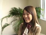 Dressed Up Teen Yuri Kousaka Vibrated And Sucks Dick picture 15