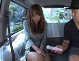 Eri Ouka Japanese model has car sex picture 9