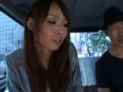 Eri Ouka Japanese model has car sex