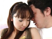Reina Fujisaki enjoys hard dick riding!