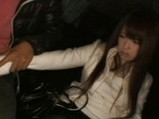 Nazuna Otoi Japanese model has car sex