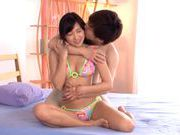 Lovely chick Nana Ogura Japanese babe mini bikini fuck and doggystyleasian babe, sexy asian}