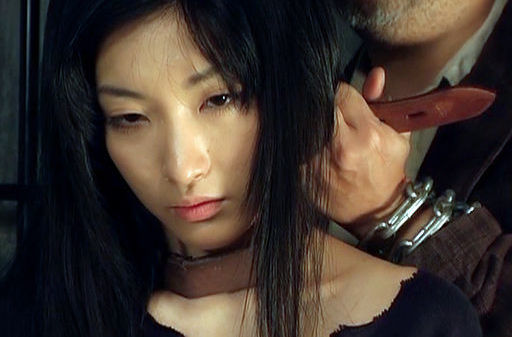 Nice Brunette Rei Amami gets her pussy fucked by two different cocks