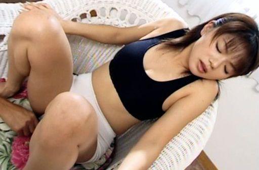 Akane Kuramochi gets a wet pussy