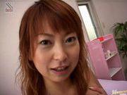 Sayaka Hagiwara gets cum on her tits