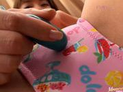 New sex toy for Devi leads too a dildo fucking session