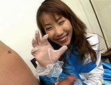 Chisato Hirai gobbles cock! picture 12