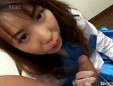 Chisato Hirai gobbles cock! picture 15