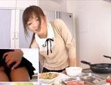 Yuu Asakura Cooks As We Watch Her Ass Up Her Skirtasian ass, cute asian}