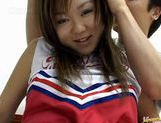 Yumi Aida cheerleader fuck! picture 12