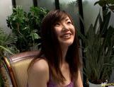 Aika Anzai in sexy lingerie hot handjob picture 1