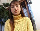 Amagi Yuki hairy pussy fuck! picture 13