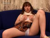 Erika Kozima seriously hot dildo penetration