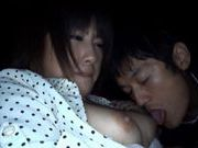 Kyoka Mizusawa gives a stunning blowjob