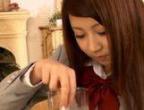 Schoolgirl Dick Sucker Hitomi Kitagawa Loves Hot Cum picture 14