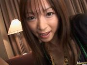 Emiru Momose gives stunning blowjob