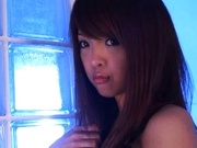 Horny Asian babe Sayuka Fukuyama fucks like a pro in bed