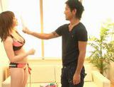 Alice Ozawa receives some seriously hot pussy pleasures picture 1