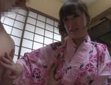 Japanese babe fucked hard picture 9