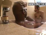 Koi Azumi gives a really hot handjob! picture 2
