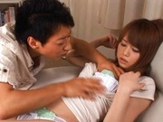 Akiho Yoshizawa blasted with loads of cum!