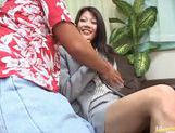 Horny Japanese girl get screwed hard in bed