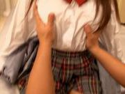 Teen Hitomi Hitagawa Fucked In A Schoolgirl Outfit