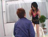 Horny Japanese milf Hina poses for the camera and then gets a wild fuck. picture 2