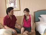 Hot milf Yume Imano engages in wild sex picture 13