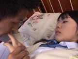 School girl Tsubomi has the fuck of her life! picture 8