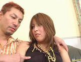 Experienced milf Arisa Minami sucks and fucks for pleasure. picture 13