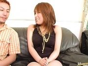 Experienced milf Arisa Minami sucks and fucks for pleasure.