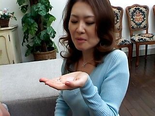 Mina Toujou Nasty Asian mother sex with son