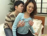 Mina Toujou Horny housewife enjoys sex picture 5