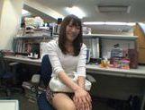 Exhibitionist Rinka Kiriyama Masturbates In Public picture 12