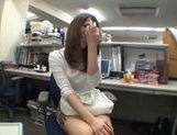 Exhibitionist Rinka Kiriyama Masturbates In Public picture 13