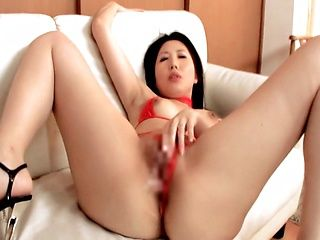 Hot Japanese woman MILF hard banging creampie