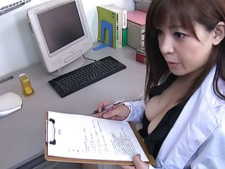Tit fuck with a naughty Japanese AV model