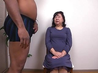 Mature asian having her pussy slamed well