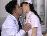 Hot Nurse Eir Ueno Makes The Doctor Happy With Sex picture 11