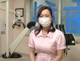 Busty Asian dentist is seduced and fucked by her patient picture 11
