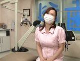 Busty Asian dentist is seduced and fucked by her patient