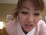 Hot Japanese nurse sex action picture 11