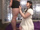 Ai Uehara nice Asian teen gets a wet cumshot