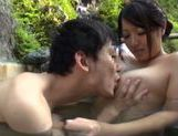 Japanese AV Model is a big titted milf enjoying a good fuck picture 14