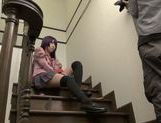 Fascinating Asian teen Yuuki Itano makes a kinky footjob