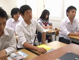 Schoolgirl Yuika Seno Daydreams Of A Threesome In Class