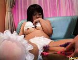 Nao Asian teen beauty likes pussy games picture 12