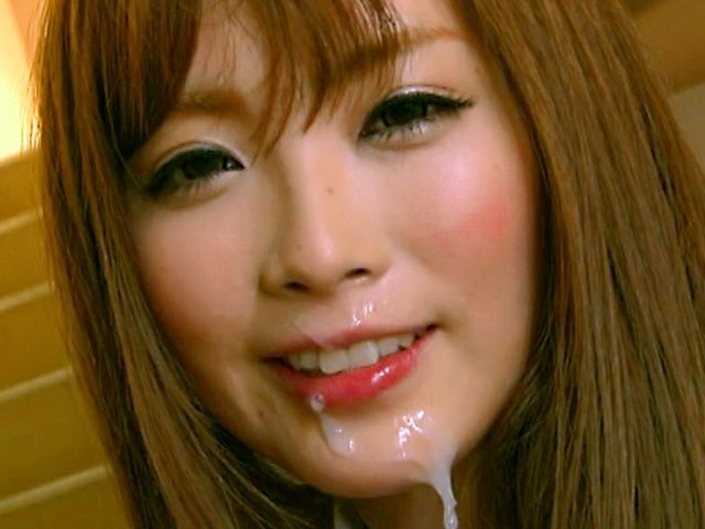 Tina Katoh gets cum all over her face